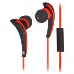 Наушники Ritmix RH-187M, Black/Red