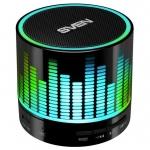 Портативная акустика SVEN PS-47, black (3W, Bluetooth, USB, microSD, FM, 300mAh) /